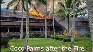 A Tour of Coco Palms Resort (Hawaii) After Hurricane Iniki and Fire