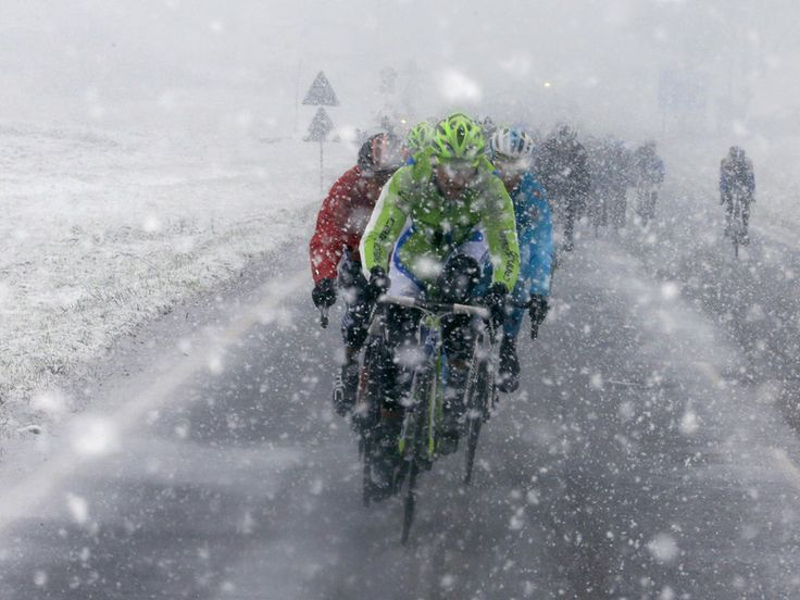 2013 Milan-San Remo saw some of the season's worst weather #ProCycling