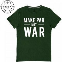 T-shirt de golf Homme - Make Par not War - Golf Plus