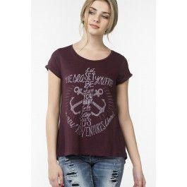 T-shirt à taille ample