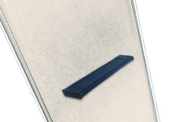 Cabinet Handle in blue leathee version