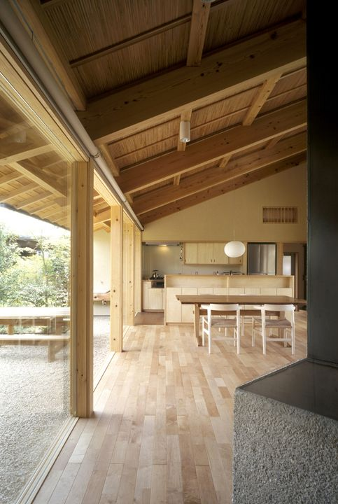 二つ庭の家 横内敏人建築設計事務所