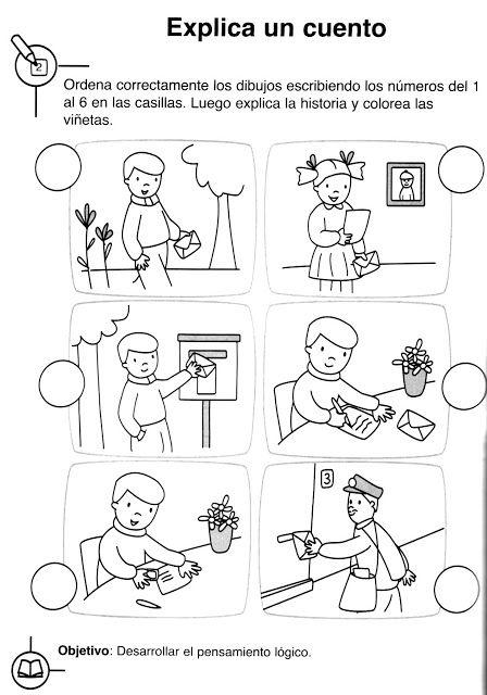Cuentos para colorear preescolar - Imagui