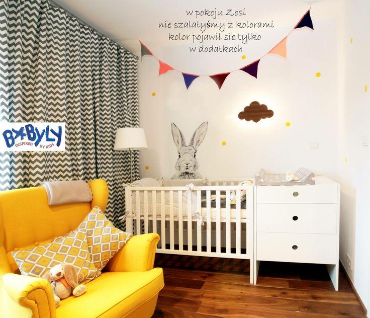 #room #design #kids #kidsroom #baby #rabbit #yellow #grylandy #przewijak #babygirl #babyboy