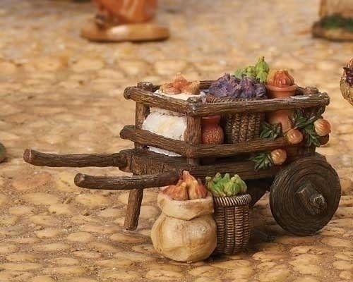 Fontanini Fig Cart Italian Nativity Village Figurine Font...