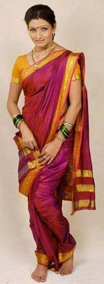 Nauvari Saree.. ♥