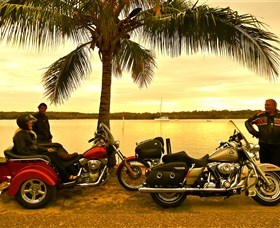 Harley Davidson Motorcycle Trikes and Bikes tours - Sunshine Cost - Freedom Wheels