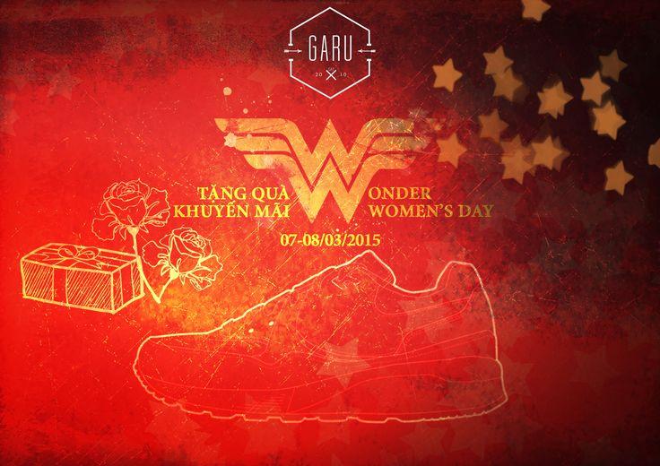 GARU ngày quốc tế phụ nữ