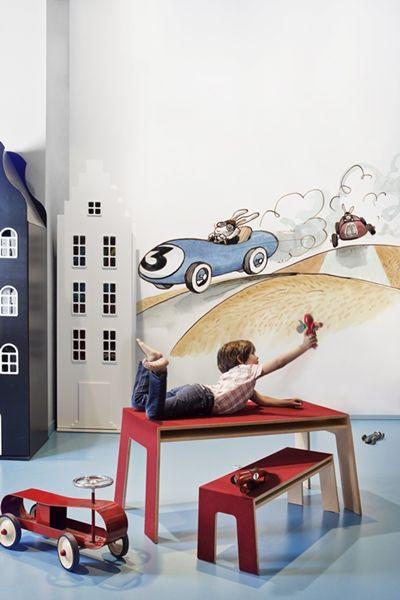 Nuevos murales infantiles de Coordonne