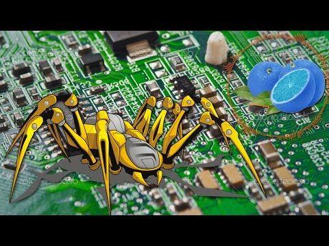 Cum sa faci un Robot in forma de Paianjen - YouTube