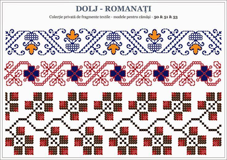 Motive traditionale romanesti - OLTENIA, Dolj - Romanati