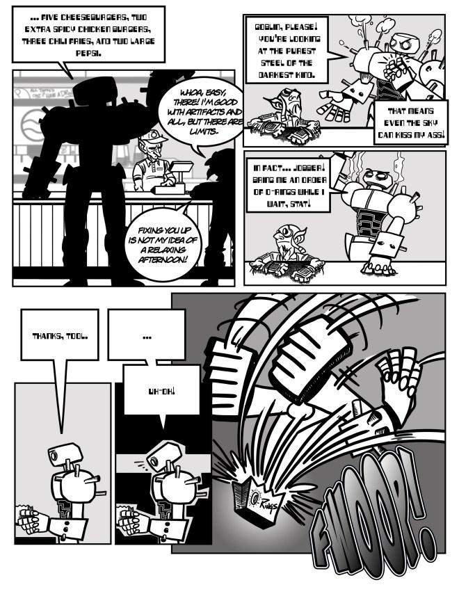 Darksteel Colossus meets Oblivion Rings