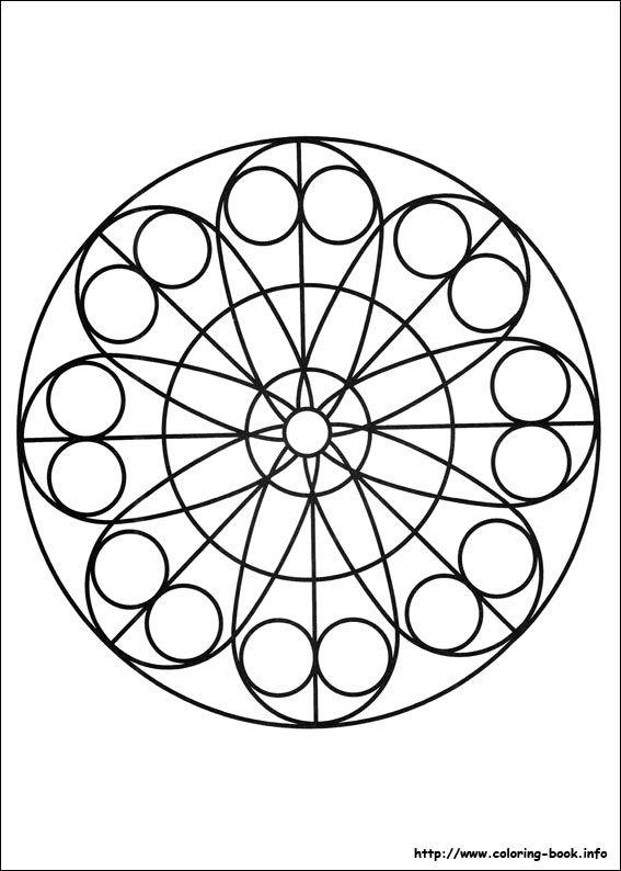 Mandala Coloring Page WorksheetsColouring SheetsFree Printable