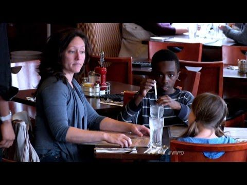 A Foster Son Starves While Mom and Daughter Eat. Now Watch When a Customer Turns Around.