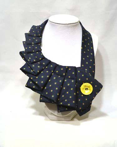 NEW Sunblue Unique Repurposed Necktie Art Accessory by stylesbyana, $29.99