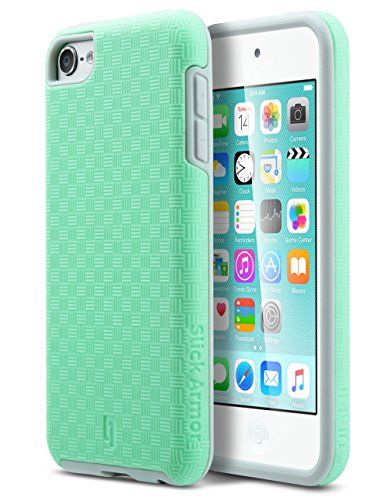 To go along with the home button stickers, I am purchasing my cousin a similar Turquoise and gray case for her iPod 6.