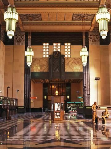 Durham Museum, Omaha, NE- beautiful art deco train station turned museum.  Highly recommend!