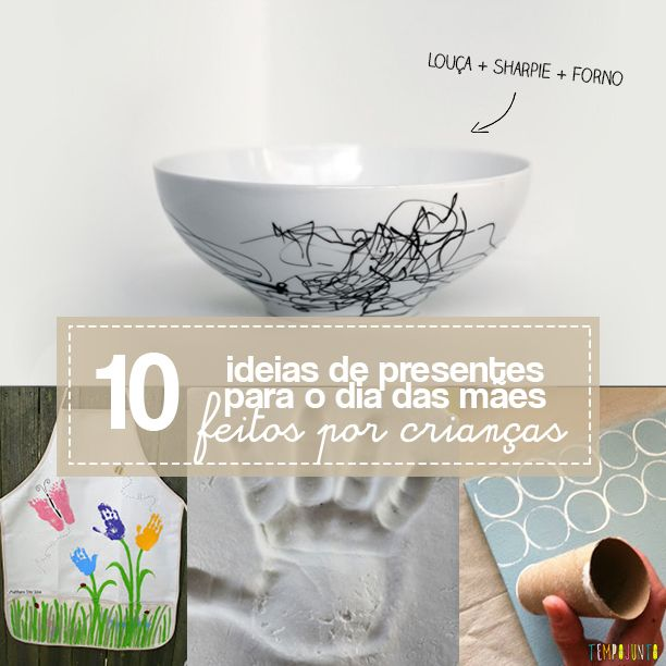 Faça você mesmo uma dessas 10 ideias de presentes caseiros para o Dia das Mães. São presentes simples, baratos e fáceis de fazer.
