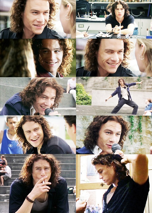 10 things I hate about you <3. I'm so in love with Heath Ledger :) he's soooo dreamy <3