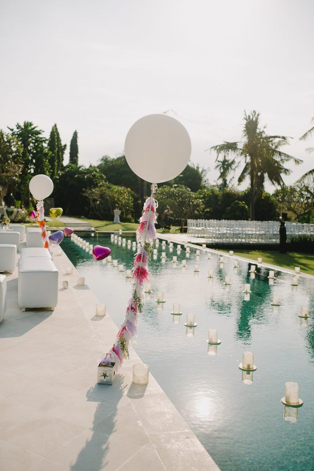 Best 25 pool wedding decorations ideas on pinterest for Dekorasi pool party