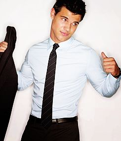 Taylor Lautner, good thing you make up for your awful acting with countless shirtless scenes.