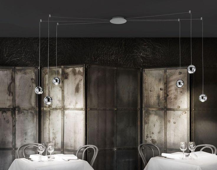 Lampy do salonu Studio Italia Design  Spider Suspension 4 - Studio Italia Design - lampa wisząca    #salon #living_room #lamp #Abanet_Kraków #StudioItaliaDesign  Spider Suspension 4