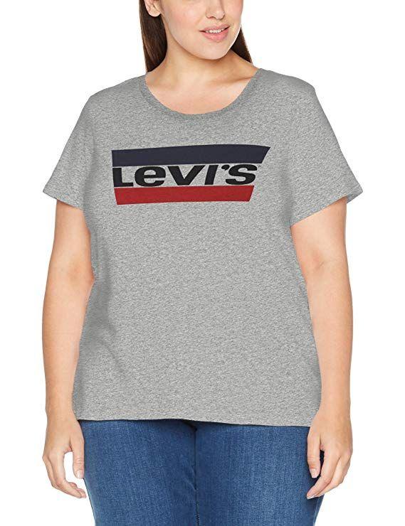 Levi's® Graphic Big Sweatshirt Damen Weiß Bekleidung