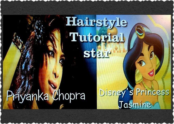 Hairstyle Tutorial star|Priyanka Chopra Indian Actress & Disney's Prince...