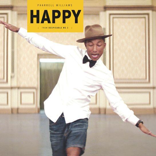 Pharrell Williams - Happy http://www.vogue.fr/culture/a-ecouter/diaporama/la-playlist-de-l-ete-d-isabel-marant/19708/image/1038486#!pharrell-williams-happy