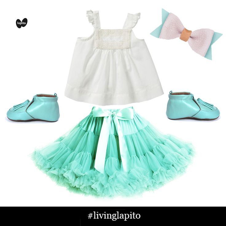 Princess baby! Pure baby top, Bugs in style tutu, Henny and Coco Bow, Lapito Footwear Bubbles baby shoes