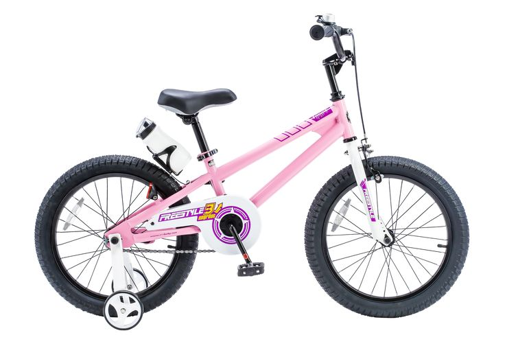 Royalbaby Freestyle Kids Bikes 12 inch, 14 inch, 16 inch, 18 inch, in 6 Colors, Boy's Bikes and Girl's Bikes as Gifts, Pink