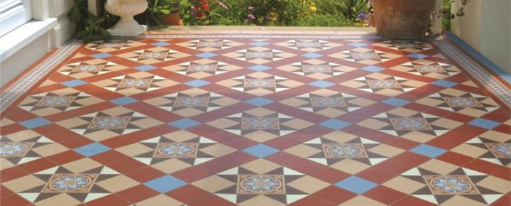 Victorian Floor Tiles - Quintessentially British, our geometric floor tiles are ideal for both the restoration of Victorian and Edwardian properties and for embellishing feature areas within modern style properties.