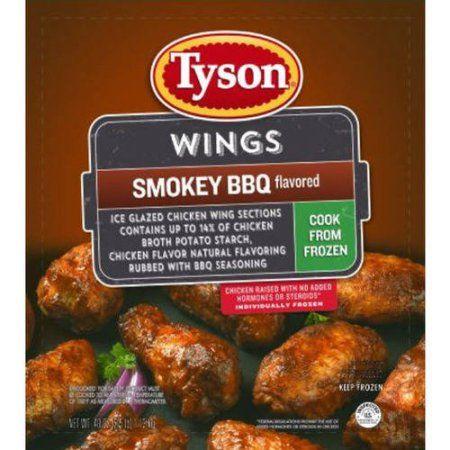 Tyson Smokey BBQ Seasoned Chicken Wings
