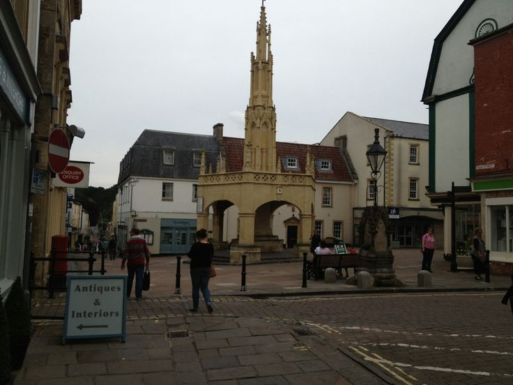 Shepton Mallet in Shepton Mallet, Somerset. Would love to visit here since I was able to trace family all the way back to here