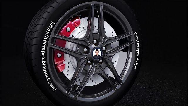 قالب إنترو إحترافي يكشف شعار عجلة السيارة Car Wheel جاهز للتحميل مجانا لكم مشاريع أفتر إفكت Automotive Logo Car Wheel Wheel