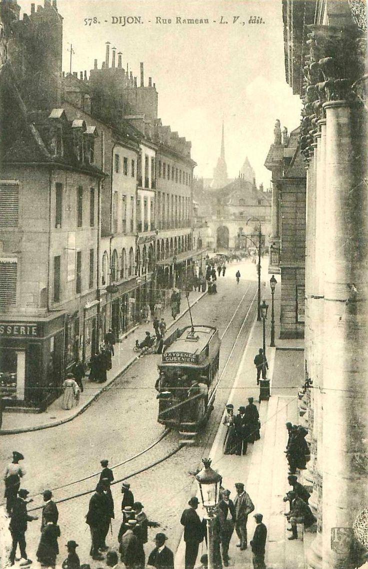 DIJON Streetcar 1900