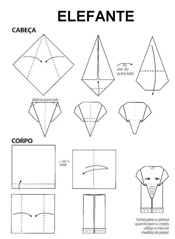 Origami Olifant Vouwen                                                       …