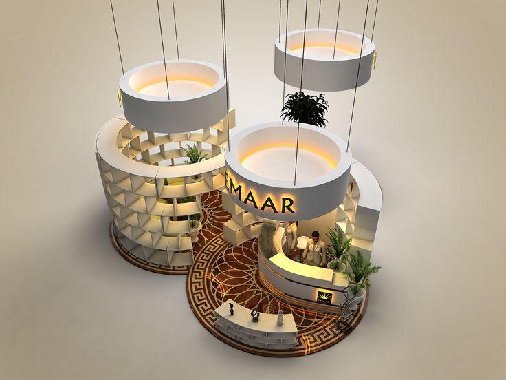 EMAAR Exhibition Design on Behance