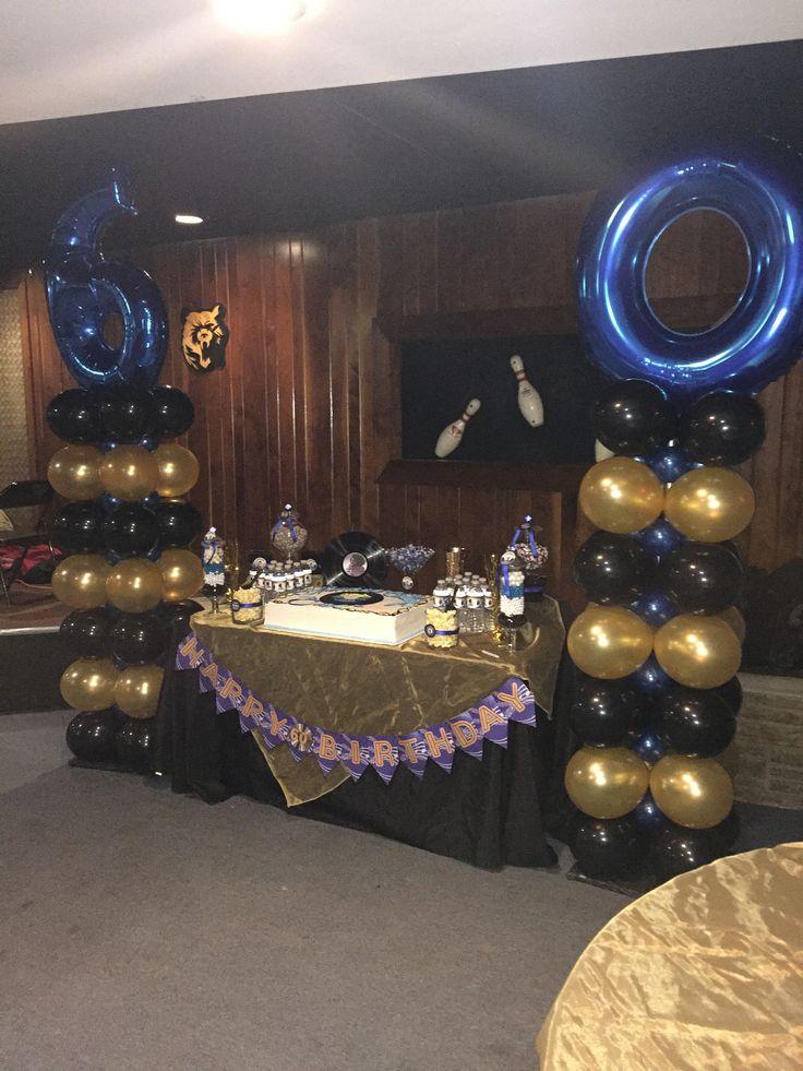 60th Motown Birthday Balloon Columns Balloon Designs