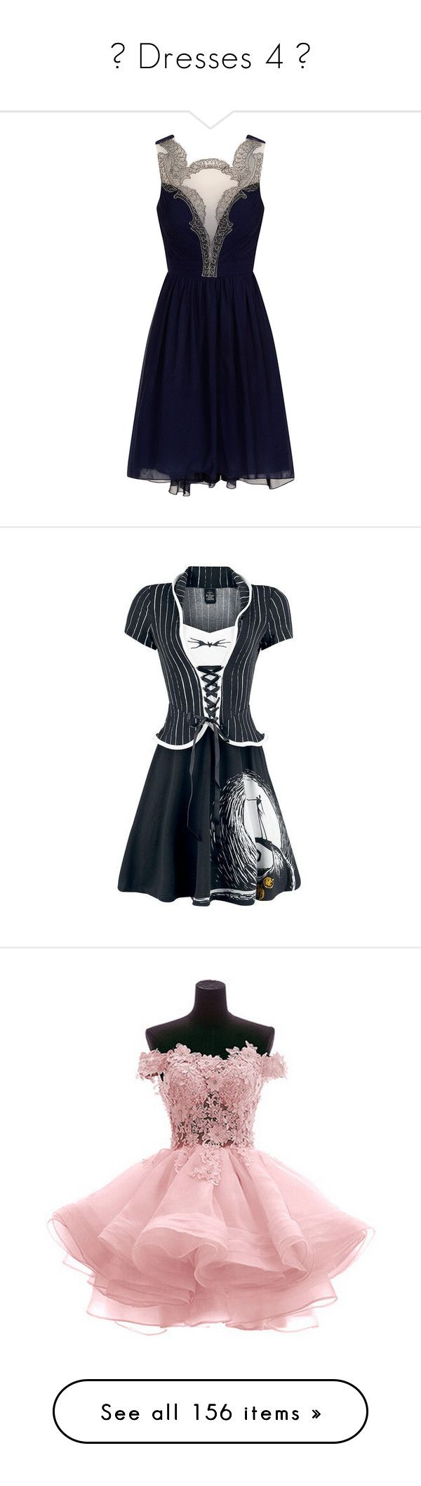 """""""❤ Dresses 4 ❤"""" by emerald-writer-girl ❤ liked on Polyvore featuring dresses, vestidos, short dresses, navy blue, mini dress, short prom dresses, navy blue cocktail dresses, navy prom dresses, short cocktail prom dresses and christmas dresses"""