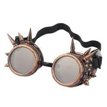 Durable lunette de soleil Remache Gótico Steampunk gafas de sol de las mujeres A Prueba de Viento de gafas de Espejo de La Vendimia gafas luneta(China (Mainland))