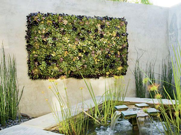 Punica Peyzaj » Hizmetlerimiz: Dikey Bahçeler. Bahçe tasarımı