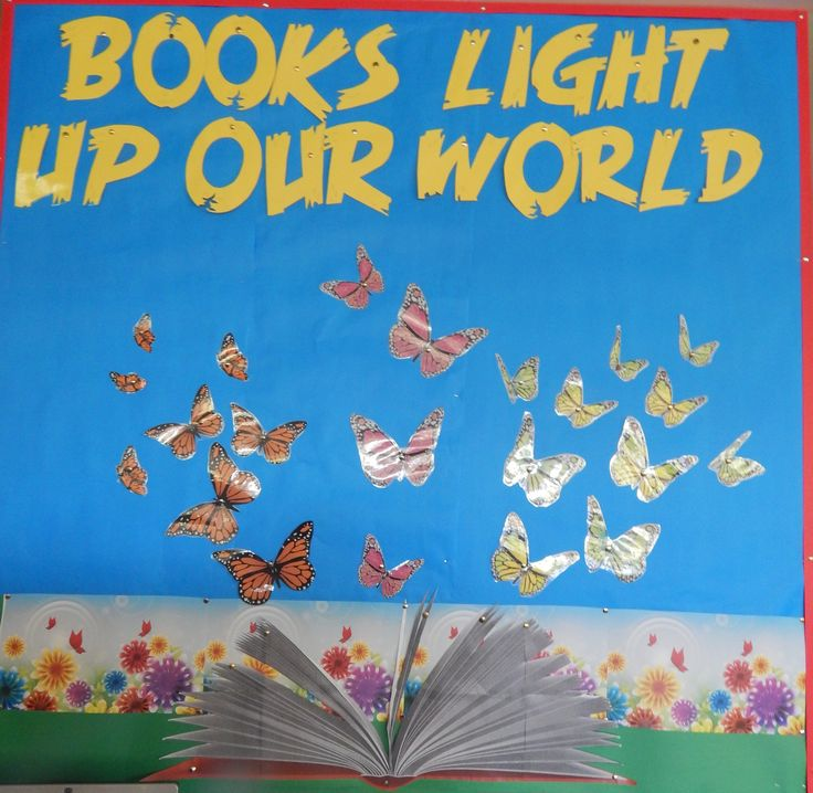Premier's Reading Challenge Books Light up our World Children add a butterfly as they finish the PRC