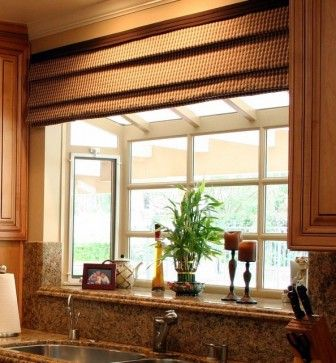 Window Treatment At Garden Window {Great Room Remodel   Traditional    Kitchen   Los Angeles   Laurie Burke}