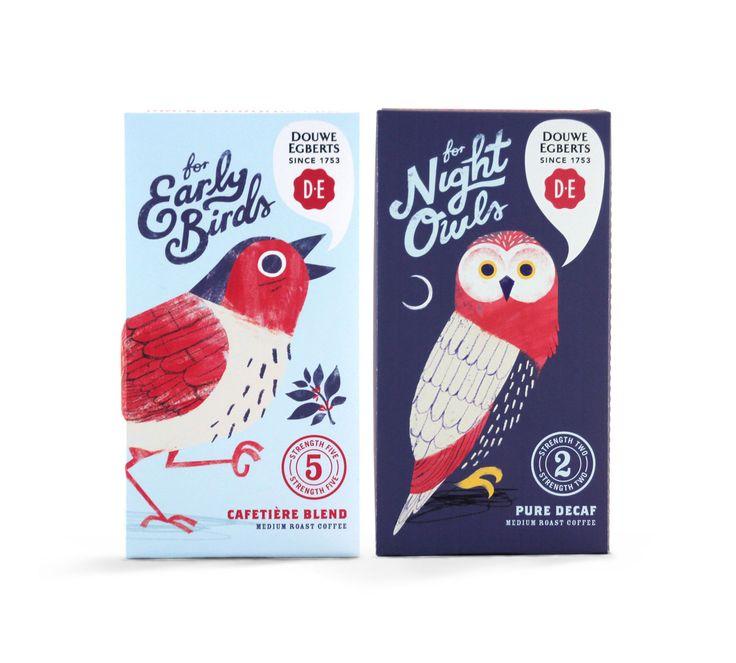 Bird coffee Förpackad -Blogg om Förpackningsdesign, Förpackningar, Grafisk Design - CAP&Design - Nordens största tidning för kreativa formgivare