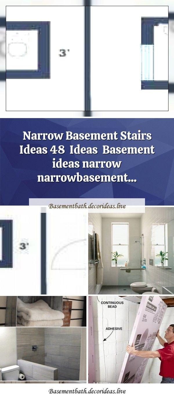 Smart Placement Narrow Bathroom Ideas Blaumobel Infobathroom Small Narrow Ideas Bath Shower Popular Smart Plac In 2020 Narrow Bathroom Deck Cleaner Basement Bathroom