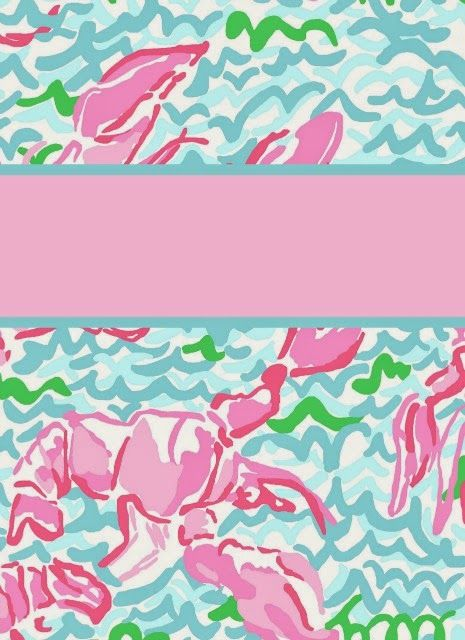 Preppy Goes Back To School With Lilly Again Pulitzer Binder Covers 2014
