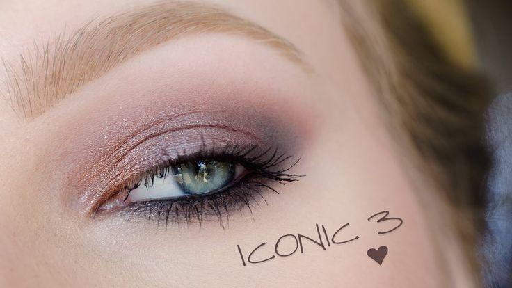 ** Makeup Revolution ICONIC 3 ** makeup tutorial