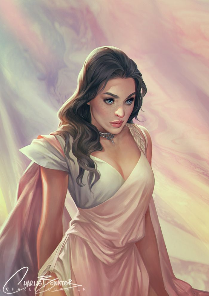 Reminds me of Feyre <3 [art by Charlie Bowater]