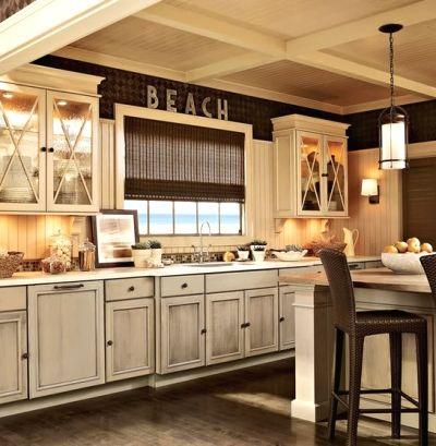 Best  Distressed Kitchen Ideas On Pinterest Distressed - Distressed kitchen cabinets